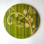 Objectify Green Sprout Large Wall Clock