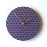 "Objectify ""Illusion"" Wall Clock"