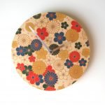Objectify Nippon Flowers Wall Clock