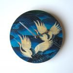 "Objectify ""Blue Crane"" Wall Clock"