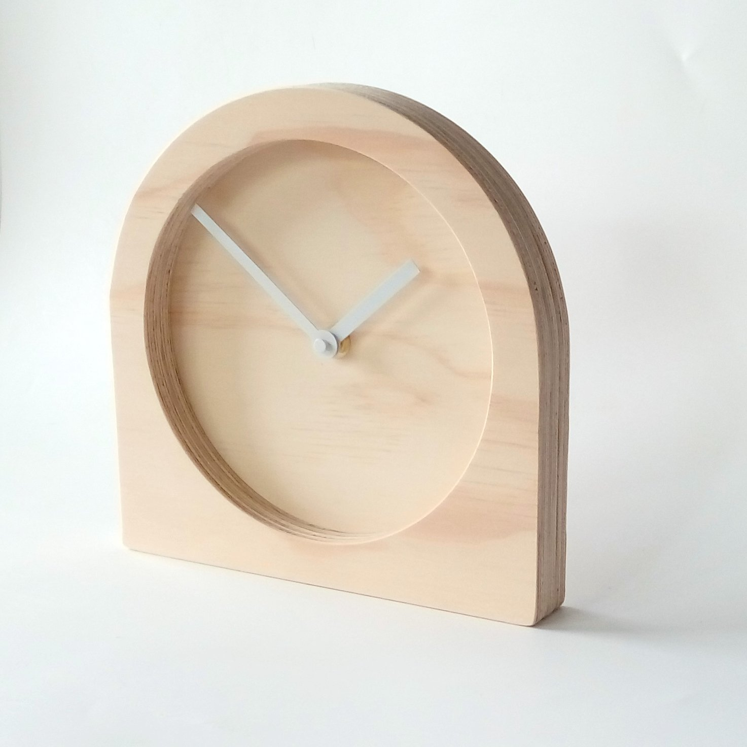 raw in furniture desk usa made solomon howard clock miller