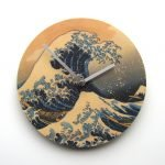 "Objectify ""Great Wave of Kanagawa"" Wall Clock"