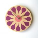 "Objectify ""Bloom"" Wall Clock"