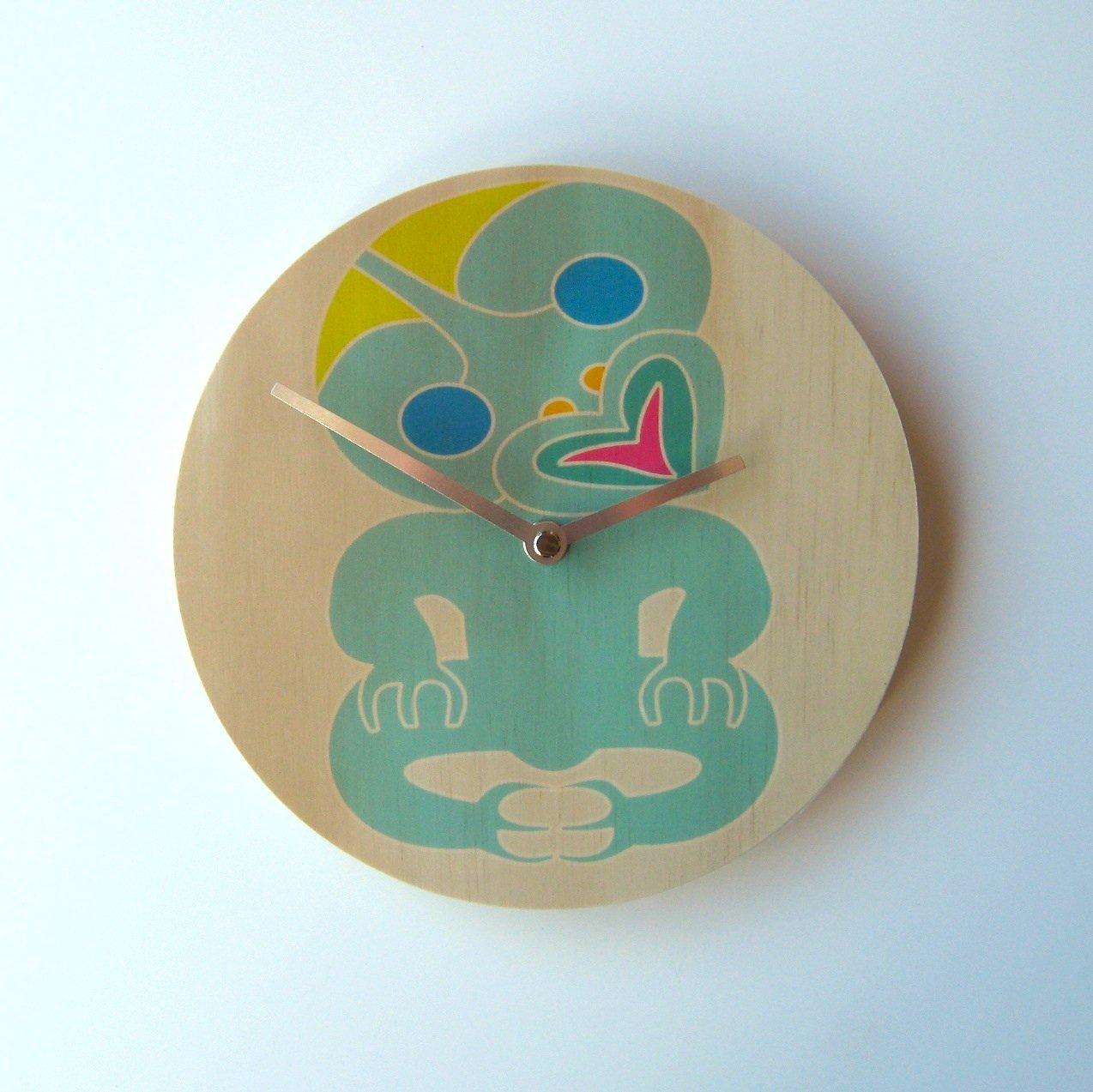 tiki clock